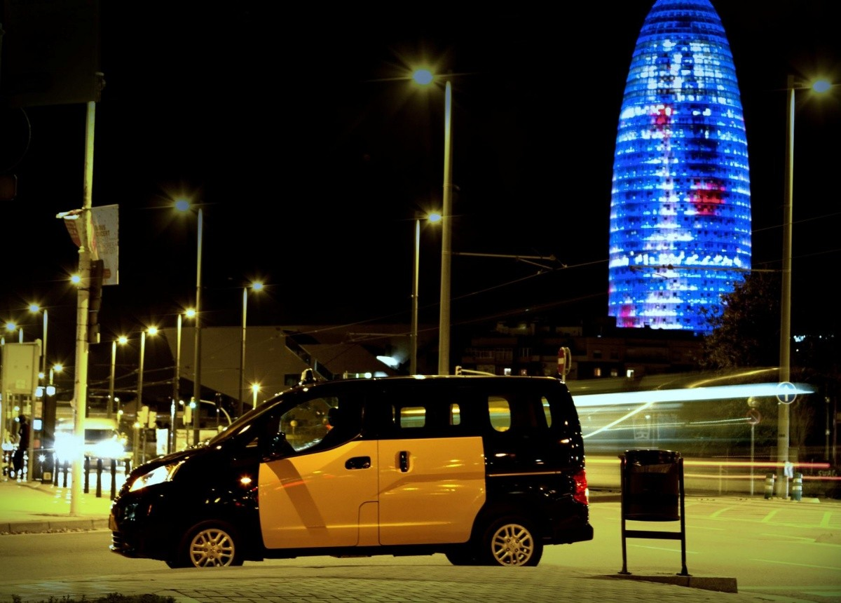 NV200 taxi barcelone