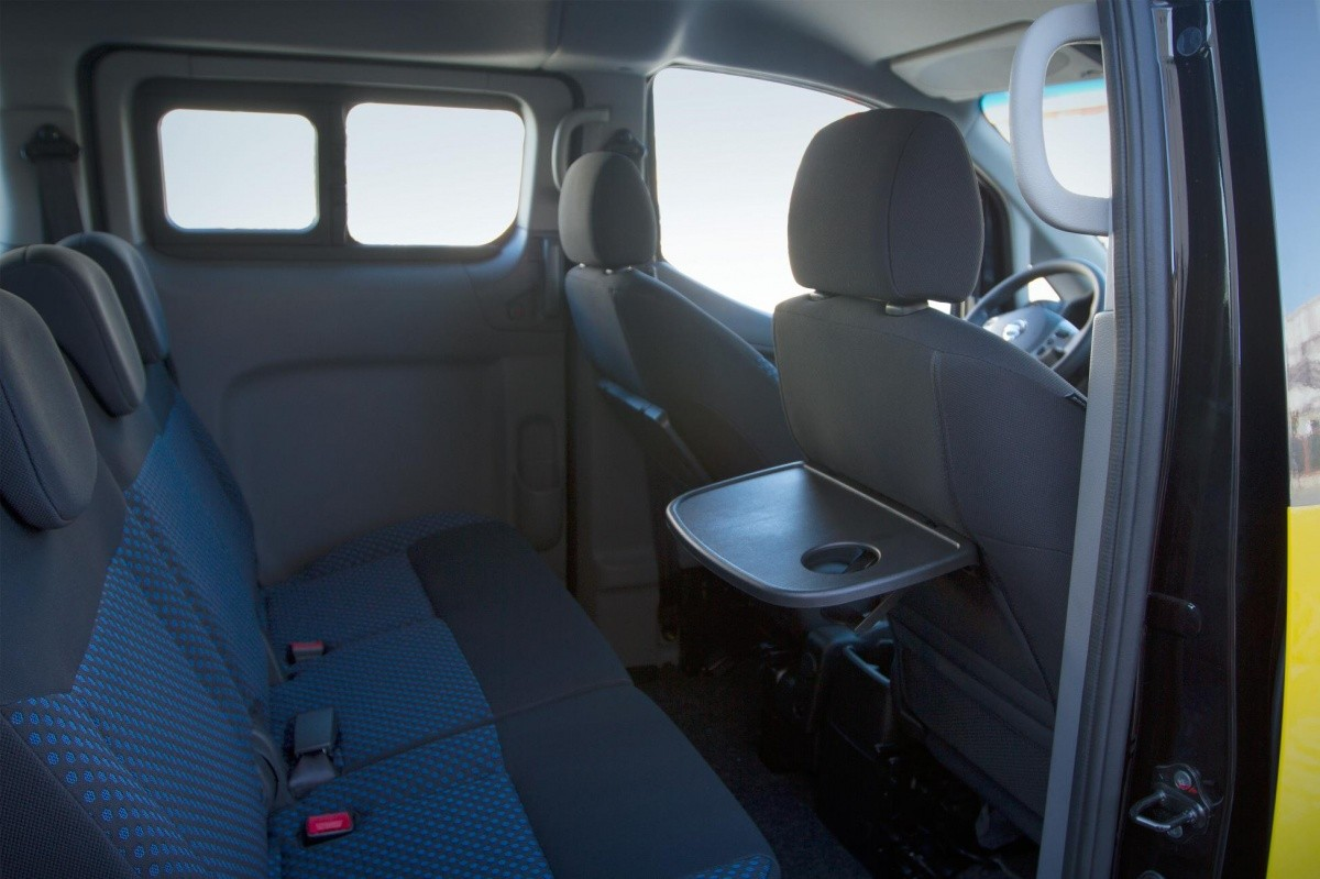 Nv Taxi Barcelone on Nissan Nv200 Seat