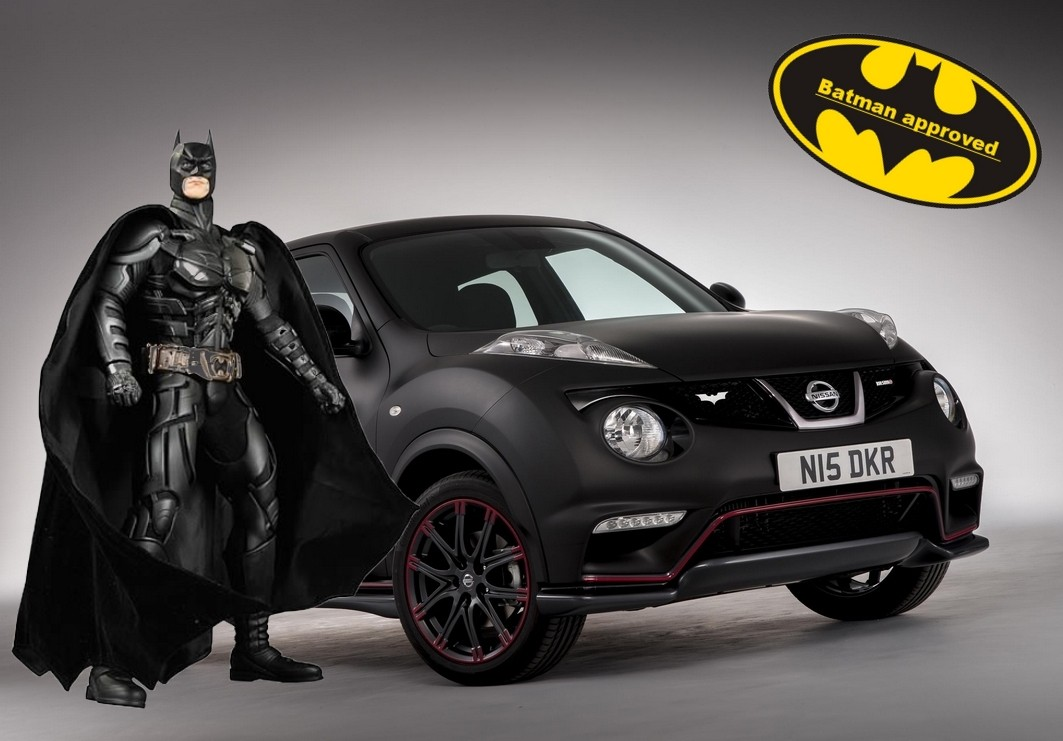 nissan juke nismo the dark knight rises il n 39 y en aura. Black Bedroom Furniture Sets. Home Design Ideas