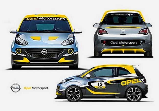 opel adam rallye cup plut t le surv t que la tenue d 39 eve. Black Bedroom Furniture Sets. Home Design Ideas