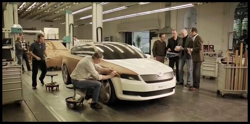 Skoda Octavia 2013 Trailer