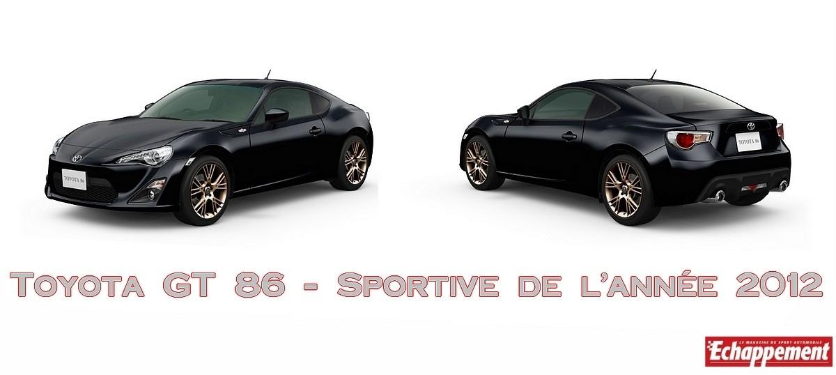 Toyota GT 86 - Sportive de l'année 2012