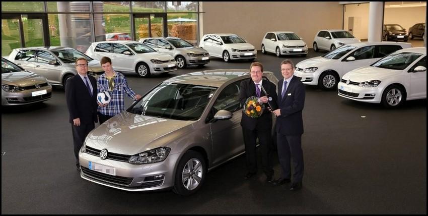 Volkswagen Golf 7 - première livraison -