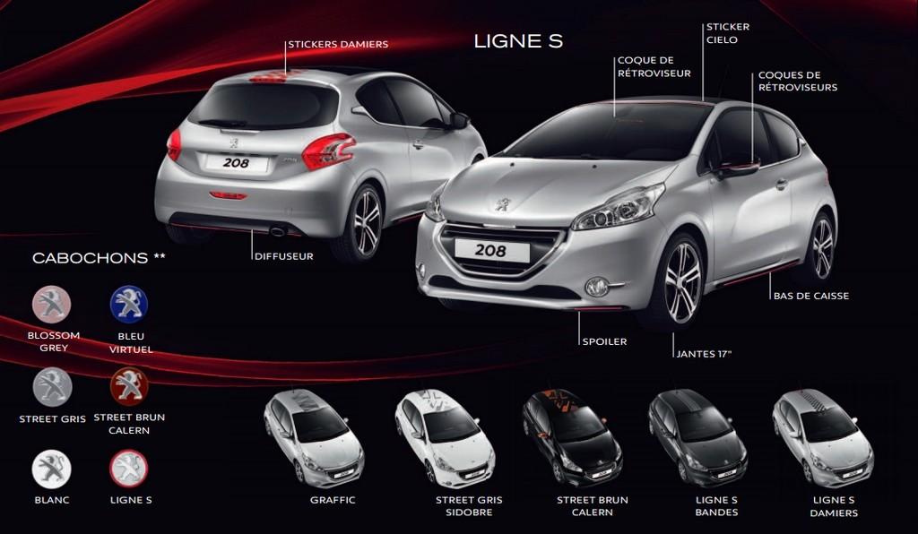 Peugeot 3 Series Limitees Pour Une 208 Blog Automobile