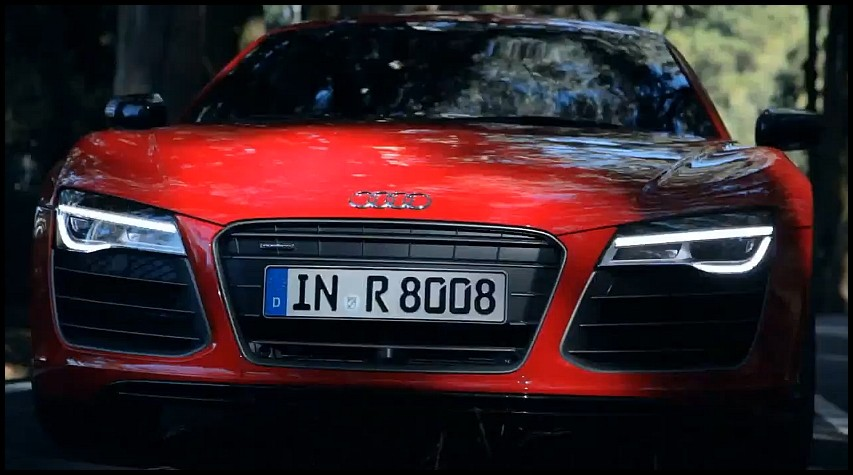 audi r8 2013 force rouge vid o blog automobile. Black Bedroom Furniture Sets. Home Design Ideas