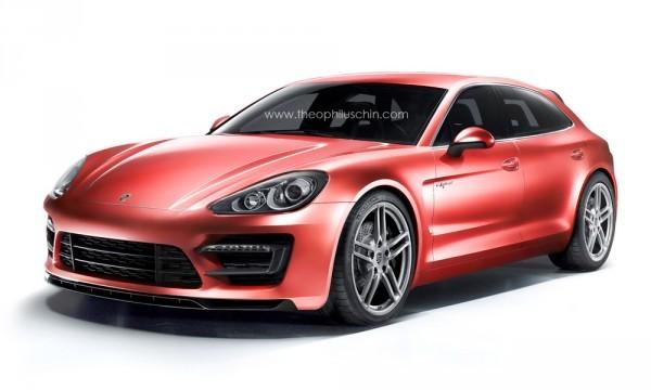 Porsche Sport Turismo Panamera photoshop