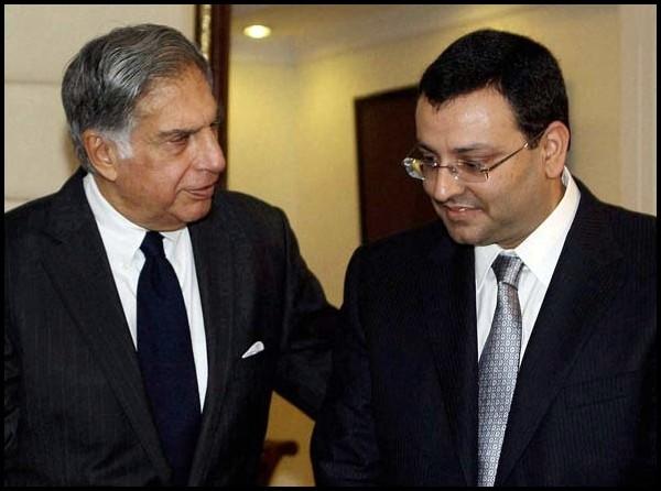 Ratan Tata et Cyrus Mistry