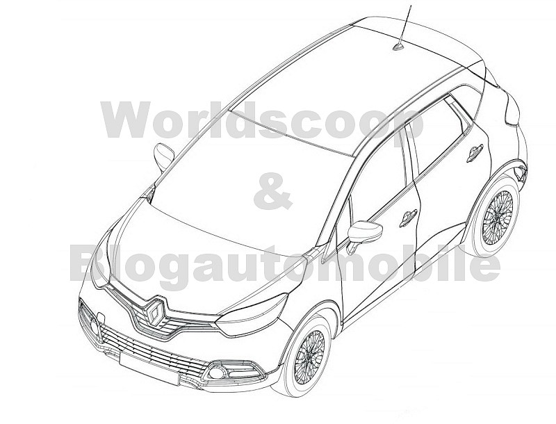 Renault Captur 2013-2014