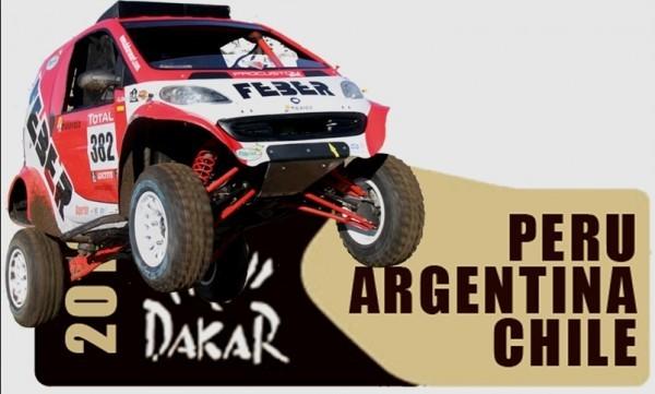 Smart Fortwo Feber Dakar 2013.6
