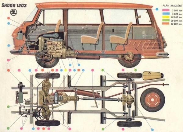 TAZ Skoda-1203-Plan