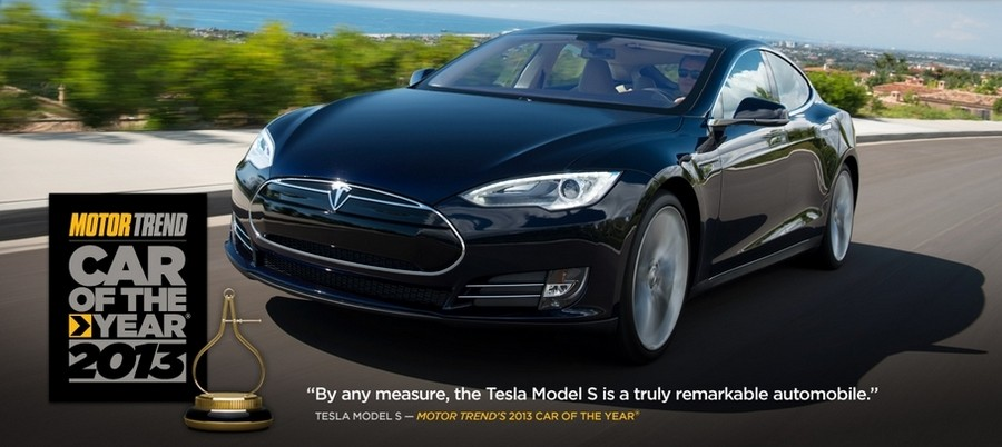 2013 motor trend car of the year tesla model s yahoo autos for Motor trend truck of the year 2013