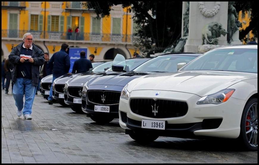 Maserati Quattroporte à Nice