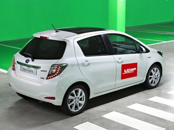 toyota yaris hybrid approuvée par l'UGAP et l'état français