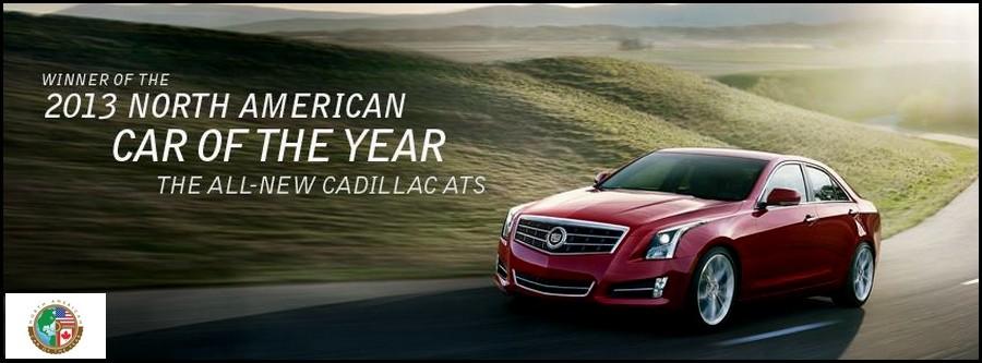 Cadillac ATS COTY 2013 aux USA