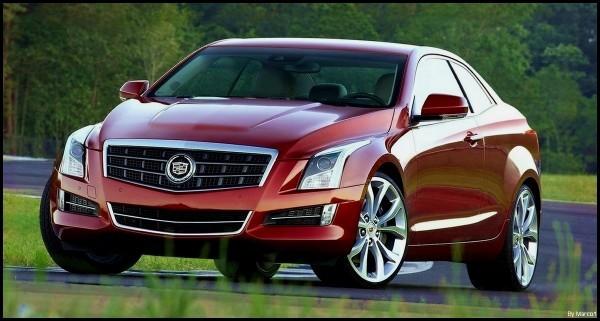 Cadillac ATS coupé .1