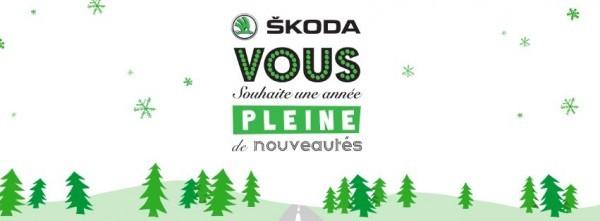 Carte de voeux Skoda 2013