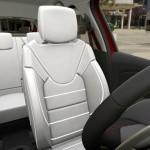 Clio RS.17 cuir Riviera avec surpiqures rouges