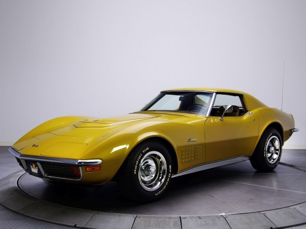 Corvette Stingray 350 LT1 (C3) '1970–72