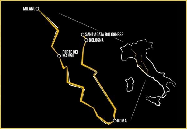 Grand Tour Lamborghini 2013