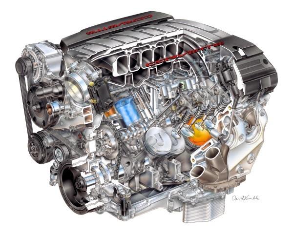K2014 6.2L V8 VVT DI LT1 Corvette