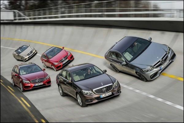 Mercedes-Benz Classe E et E63 AMG en famille