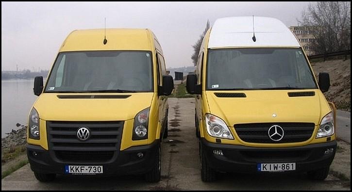Mercedes Sprinter et Volkswagen Sprinter