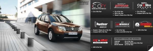 Renault Duster en Inde