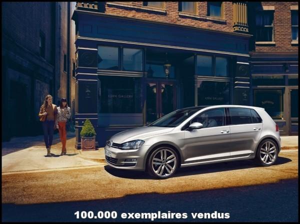 VW Golf 7 - 100.000 ex vendus