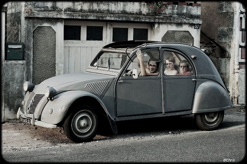 citroen 2cv par Chris