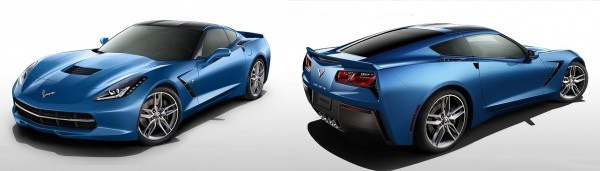 Chevrolet Corvette C7 Stingray Bleu Laguna