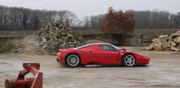 Ferrari Enzo WRC - Du rallye en Ferrari