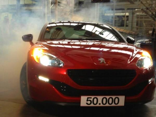 Peugeot 50.000 RCZ