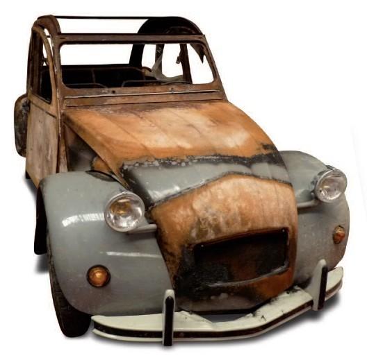 l 39 pave de la derni re 2cv fabriqu e en france est vendue m j blog automobile. Black Bedroom Furniture Sets. Home Design Ideas