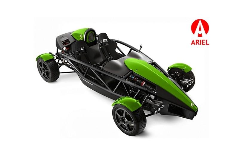 Ariel motor company bient t une atom avec un chassis en - Voiture ariel atom ...