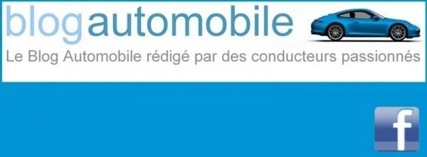 Bannière Blogautomobile pour Facebook