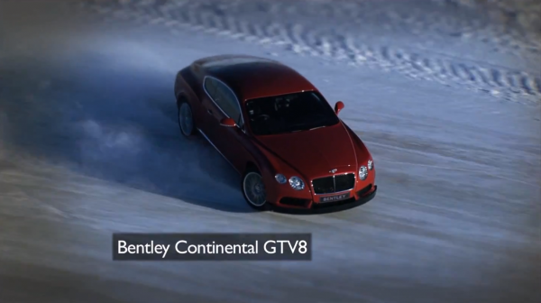 Bentley On Ice