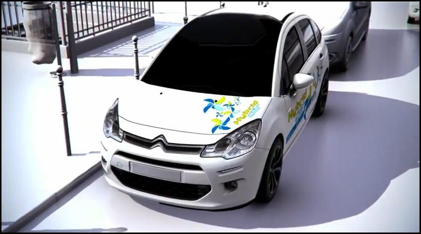 citro n c3 hybrid air esprit de guy n gre sort de cette voiture vid o blog automobile. Black Bedroom Furniture Sets. Home Design Ideas
