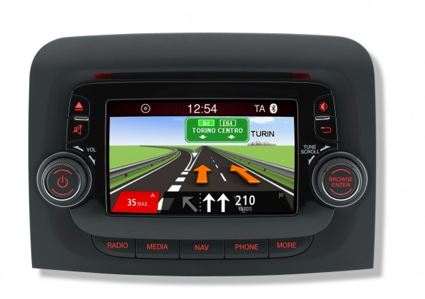 Tomtom Navigation et le groupe Fiat