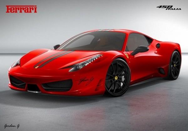 Ferrari 458 Monte-Carlo