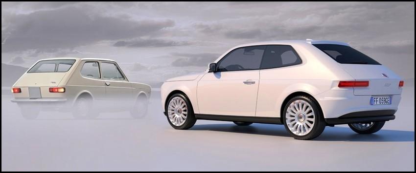 Connu Fiat 127 2015 : Eh Sergio, c'est une jolie idée pour succéder à la  JI95