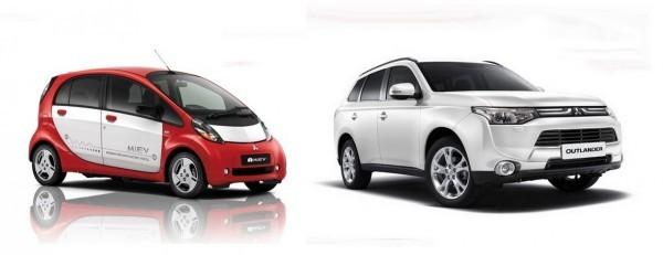 Mitsubishi des soucis avec le i MiEV et l'Outlander