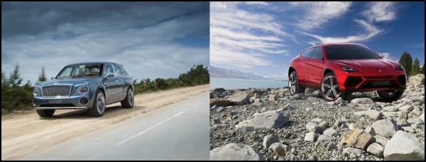 SUV Bentley et Lamborghini
