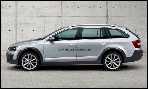 Skoda Octavia Combi Scout by T.Chin.3