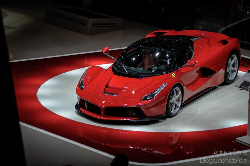 Ferrari La Ferrari En Live Blog Automobile