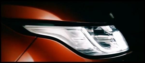 teaser Land Rover Range Rover Sport 2013-2014