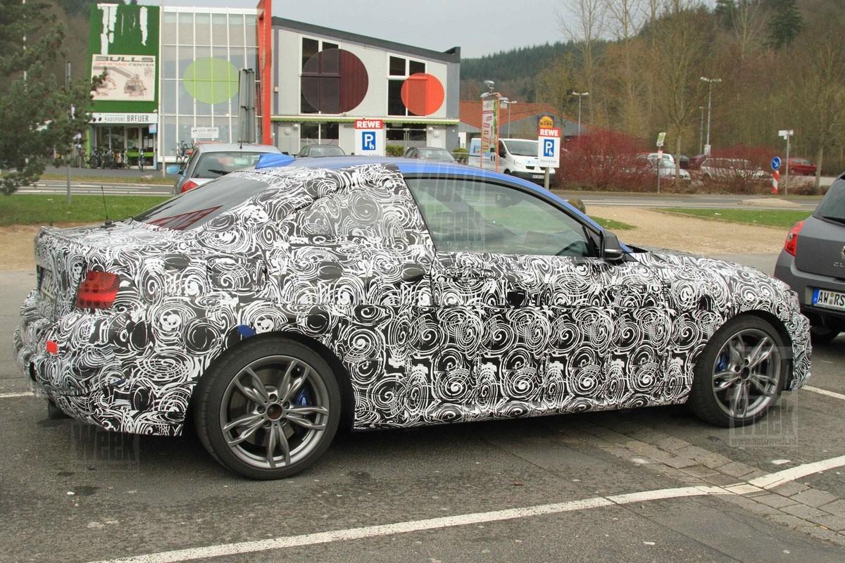 BMW Série 2 photos volées (1)
