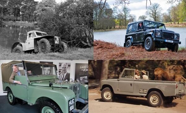 Du land Rover au Defender