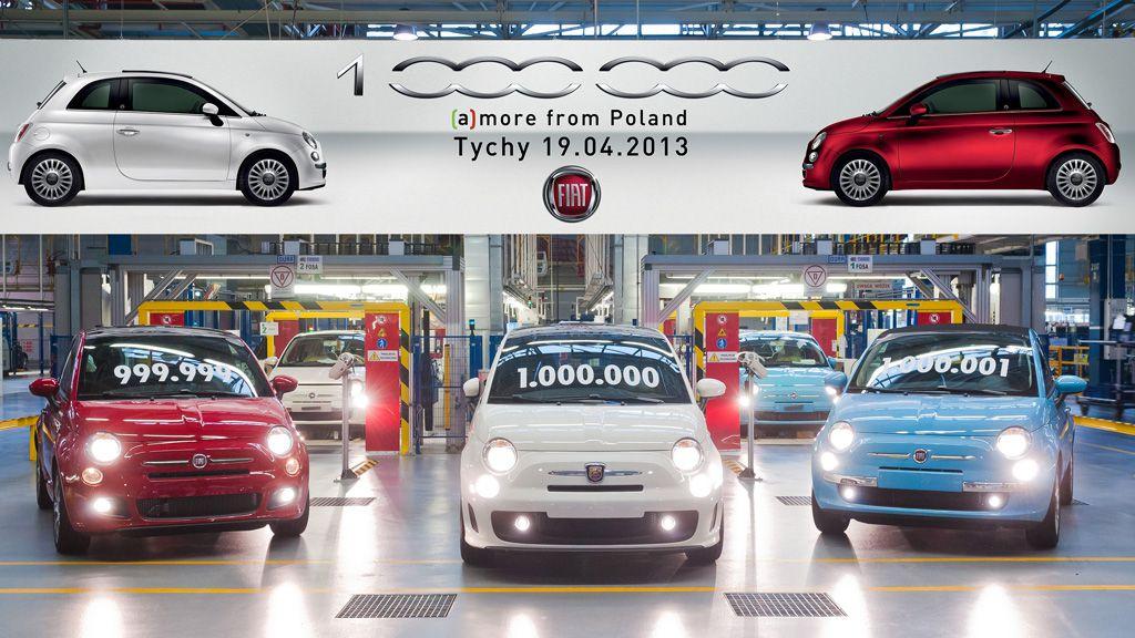 Fiat - un million de Fiat 500