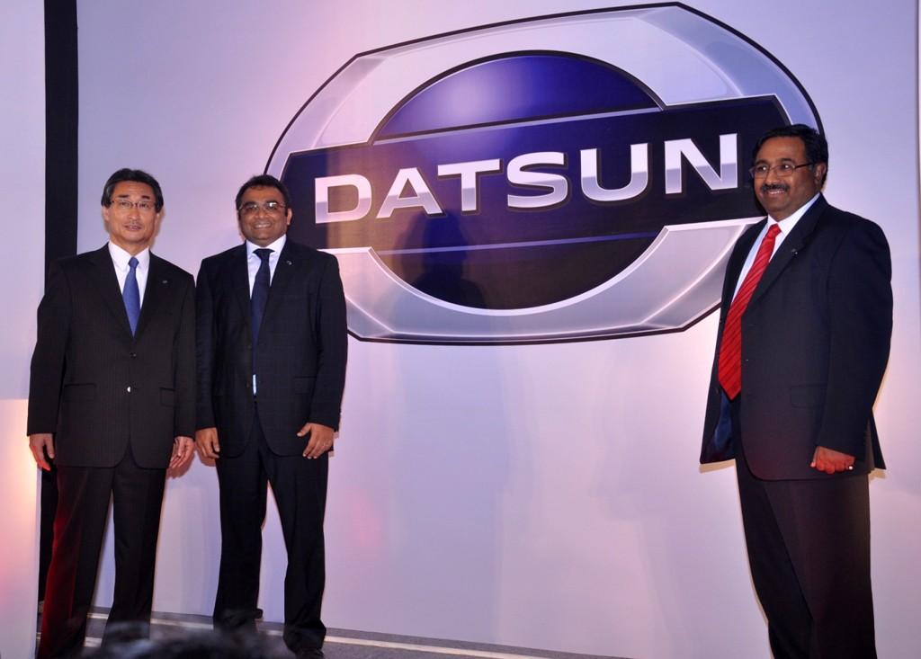 Logo New Datsun