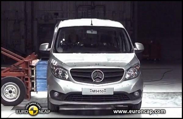 Mercedes Benz Citan EuroNcap.0